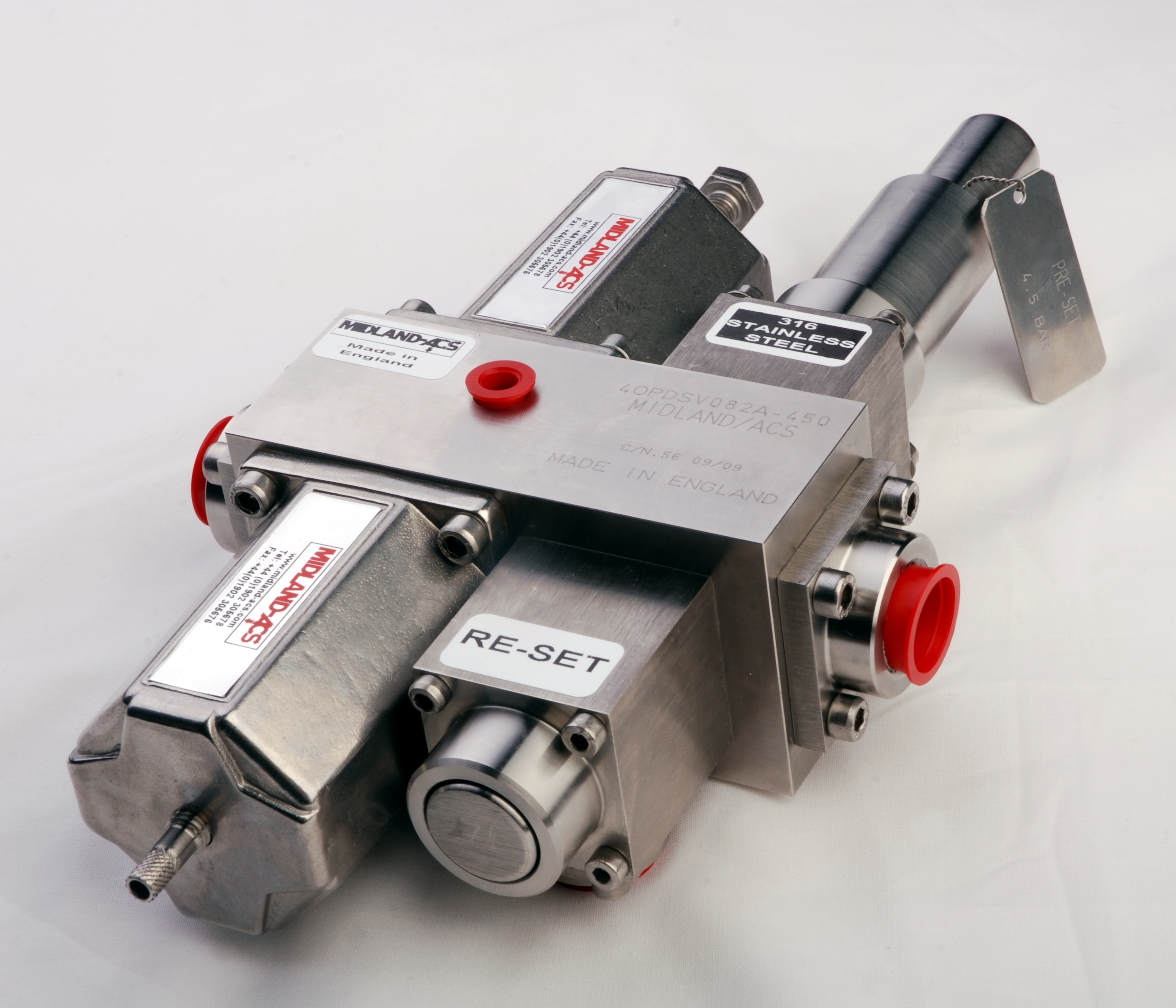 Midland air valves catalog