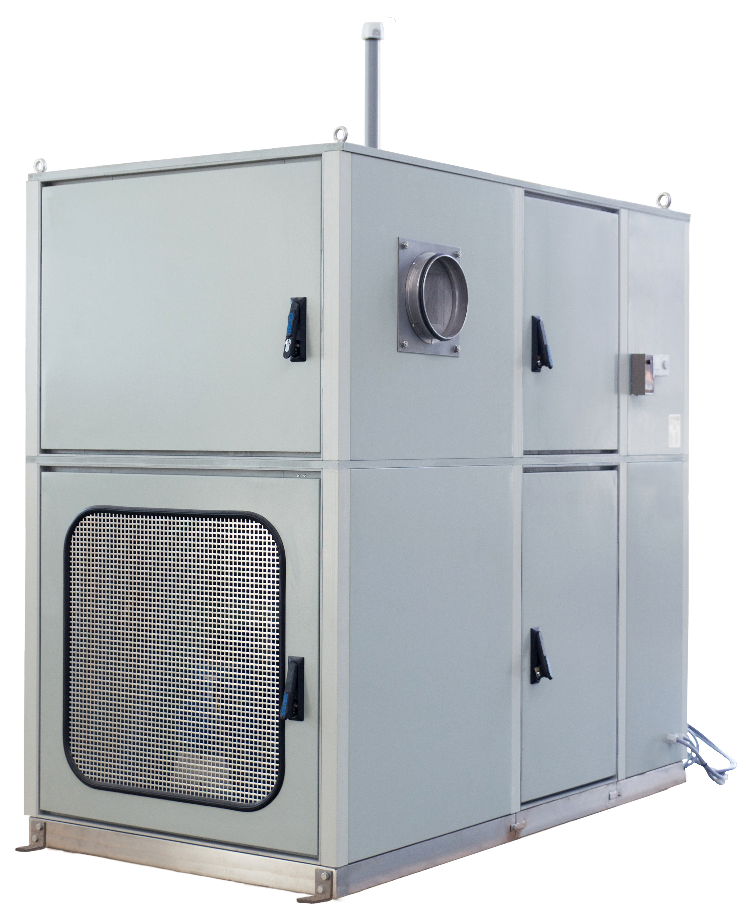 Intertec's ATEX compliant HVAC system provides a customizable and  #4C596D