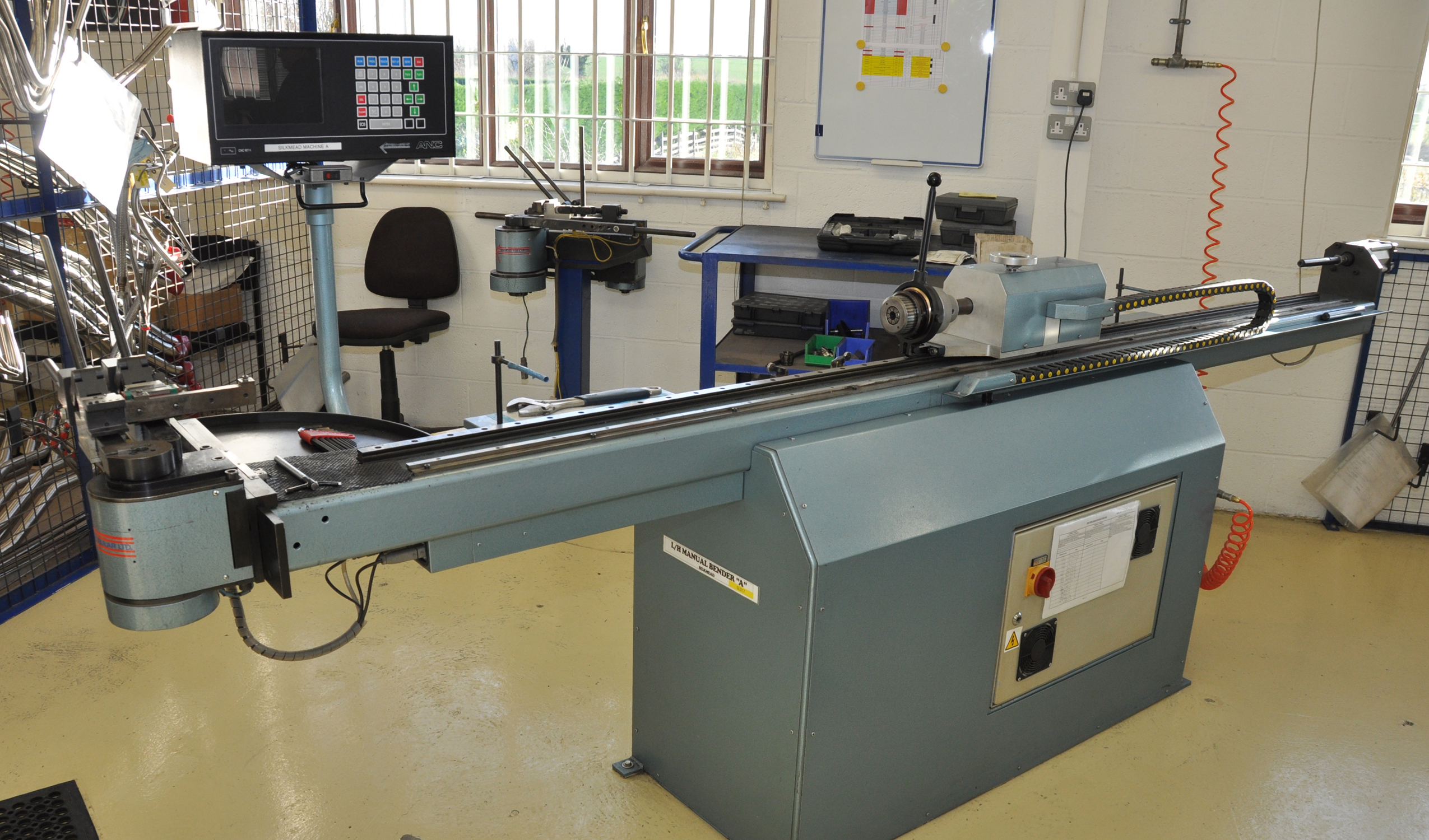 Tube bending leader adds new low cost entry point machine for Unison house